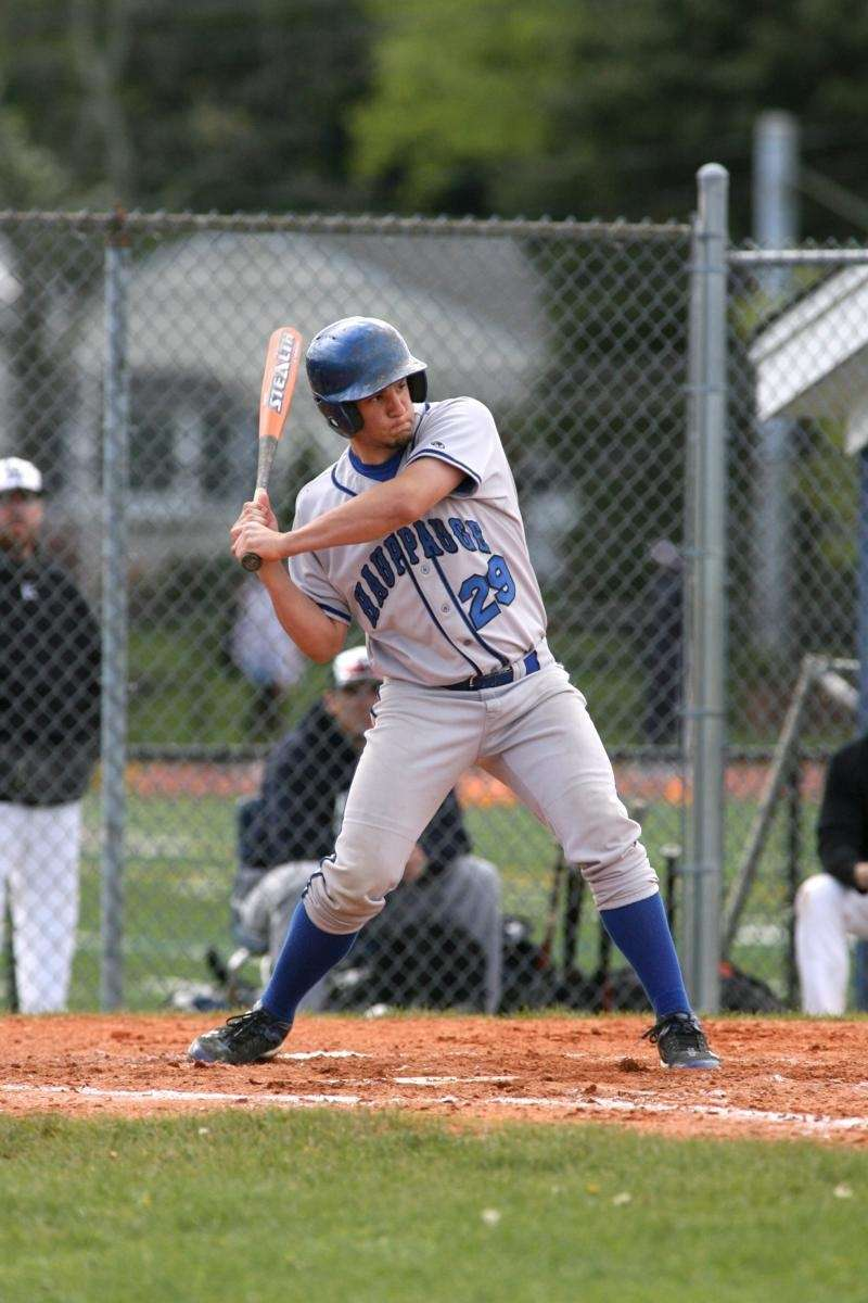 Hauppauge High School baseball player Angelo Biondo at