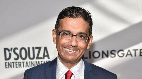 Dinesh D'Souza is seen in Los Angeles in