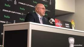 Head coaches Barry Trotz of the Capitals and