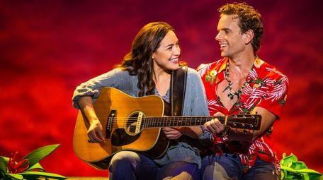 Alison Luff and Paul Alexander Nolan star in