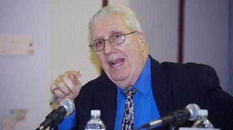 Sen. Carl Marcellino, seen here on Feb. 4,