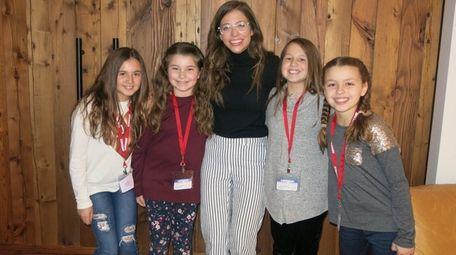 Singer Josie Dunne meets with Kidsday reporters Adryana