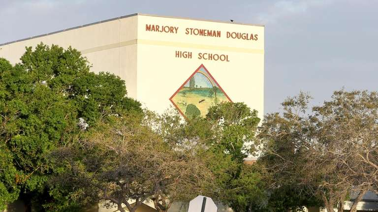 Marjory Stoneman Douglas High School in Parkland, Fla.,
