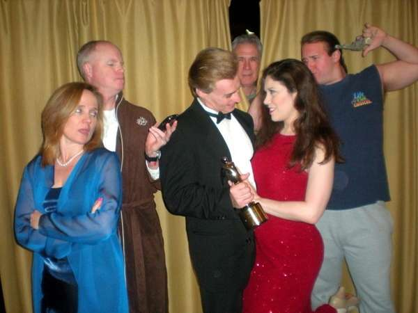 A scene from the Long Island premiere of