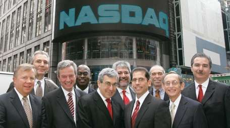 CEO Stanley Bergman and other Henry Schein executives