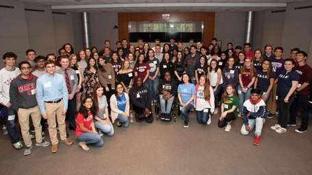 Long Island valedictorians came to Newsday in Melville