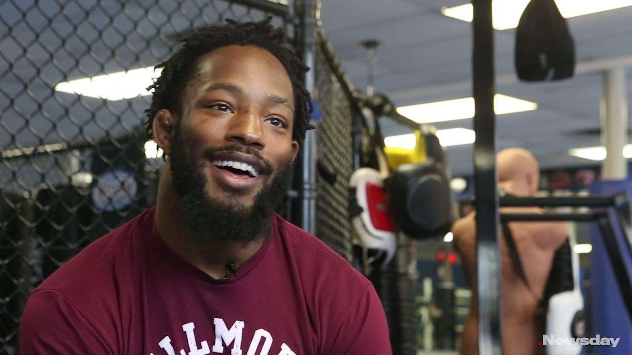 Andre Harrison, an undefeated MMA fighter from Freeport,