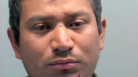 Bernadino Jocon, 29, of Hempstead was arrested Thursday