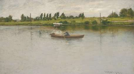 "William Merritt Chase's ""Pulling for Shore"" is one"