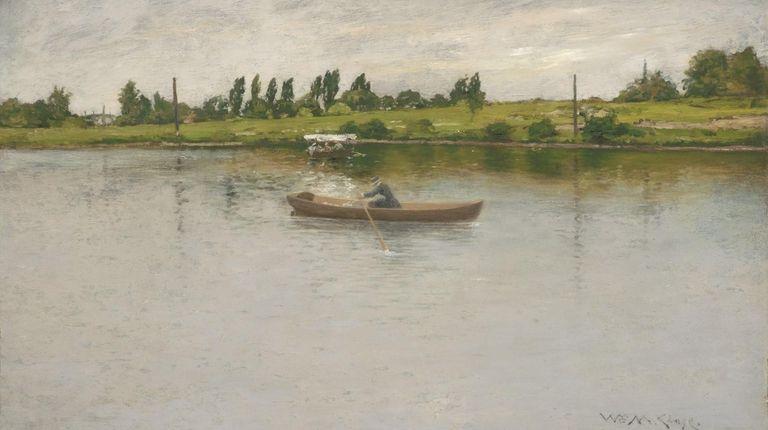 "William Merritt Chase's ""Pulling for Shore"" is one"