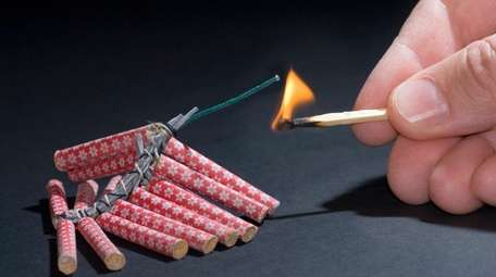 Firecrackers can trigger post-traumatic stress.