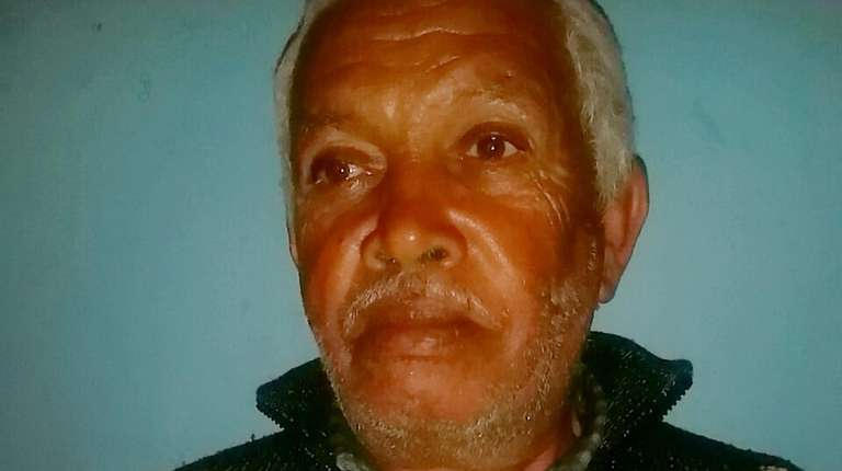 Hassan Elbaz, 62, the Moroccan fisherman holds the