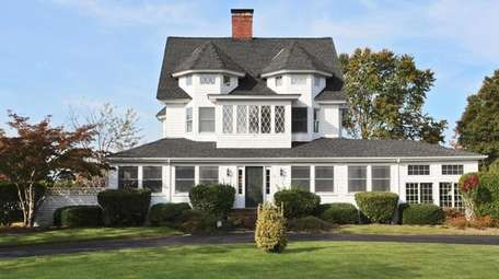 This Bay Shore home, built in 1897, includes