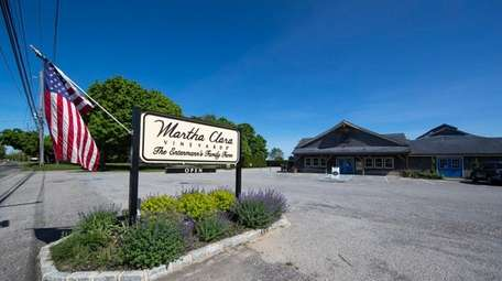 Martha Clara Vineyards in Riverhead. The property has
