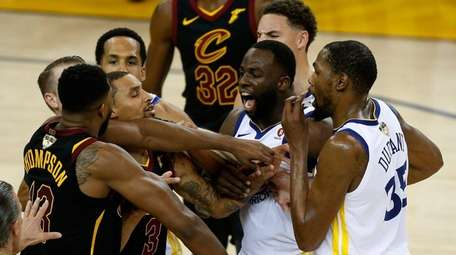 Tristan Thompson and Draymond Green had a confrontation