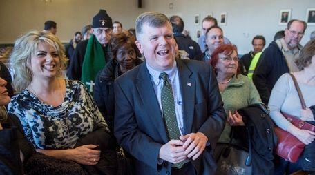 Suffolk Democratic chairman Rich Schaffer in an undated