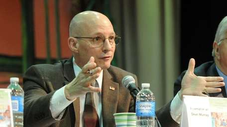 Assemb. Dean Murray speaks at the annual legislative