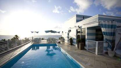 Rooftop at the Strand Hotel in South Beach,
