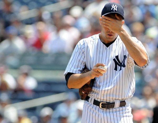 Struggling Javier Vazquez. (May 1, 2010)