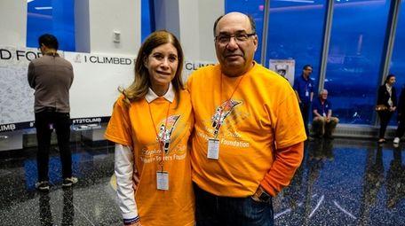 Linda Beigel Schulman and husband Michael Schulman attend