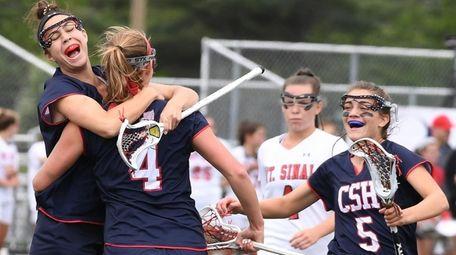 Cold Spring Harbor midfielder Emily Weld, attacker Katherine
