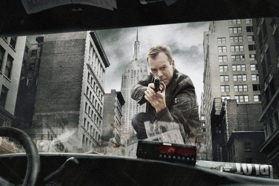 Kiefer Sutherland is the protagonist Jack Bauer on