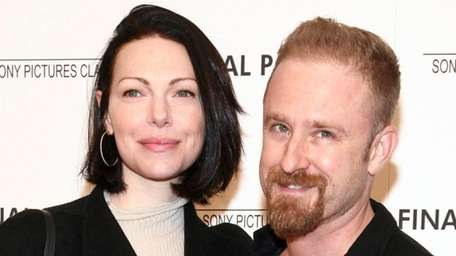 Laura Prepon and Ben Foster attend a screening