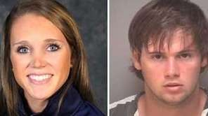 Yeardley Love, left, was found slain early Monday