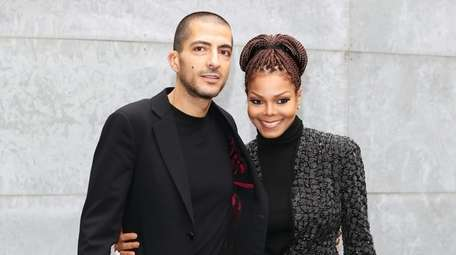 Wissam Al Mana and Janet Jackson attend the