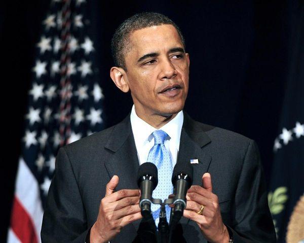 U.S. President Barack Obama delivers remarks to the