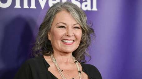 Roseanne Barr arrives at the NBC Universal Summer