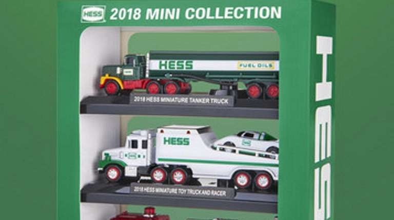 Hess revealed the 20th anniversary Toy Truck Mini
