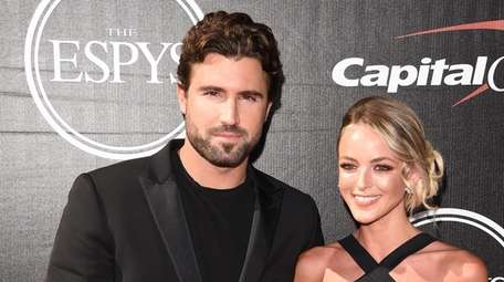 Brody Jenner and Kaitlynn Carter at the 2015