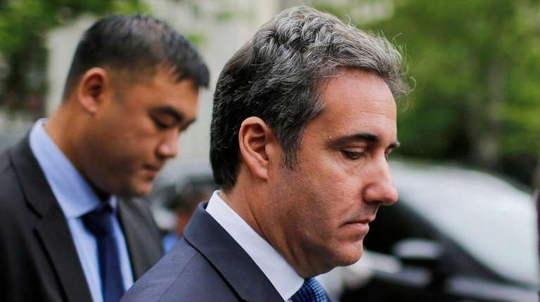 Michael Cohen, former personal lawyer and confidant for