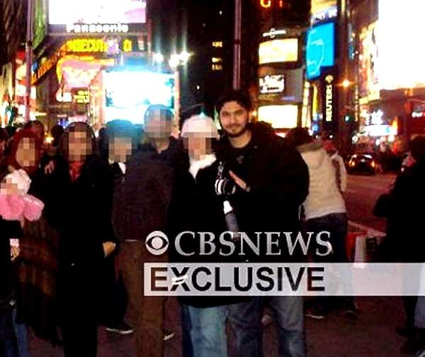 Faisal Shahzad is seen in Times Square one