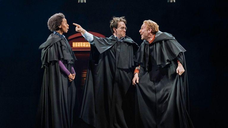 Noma Dumezweni, left, is Hermione Granger, Jamie Parker