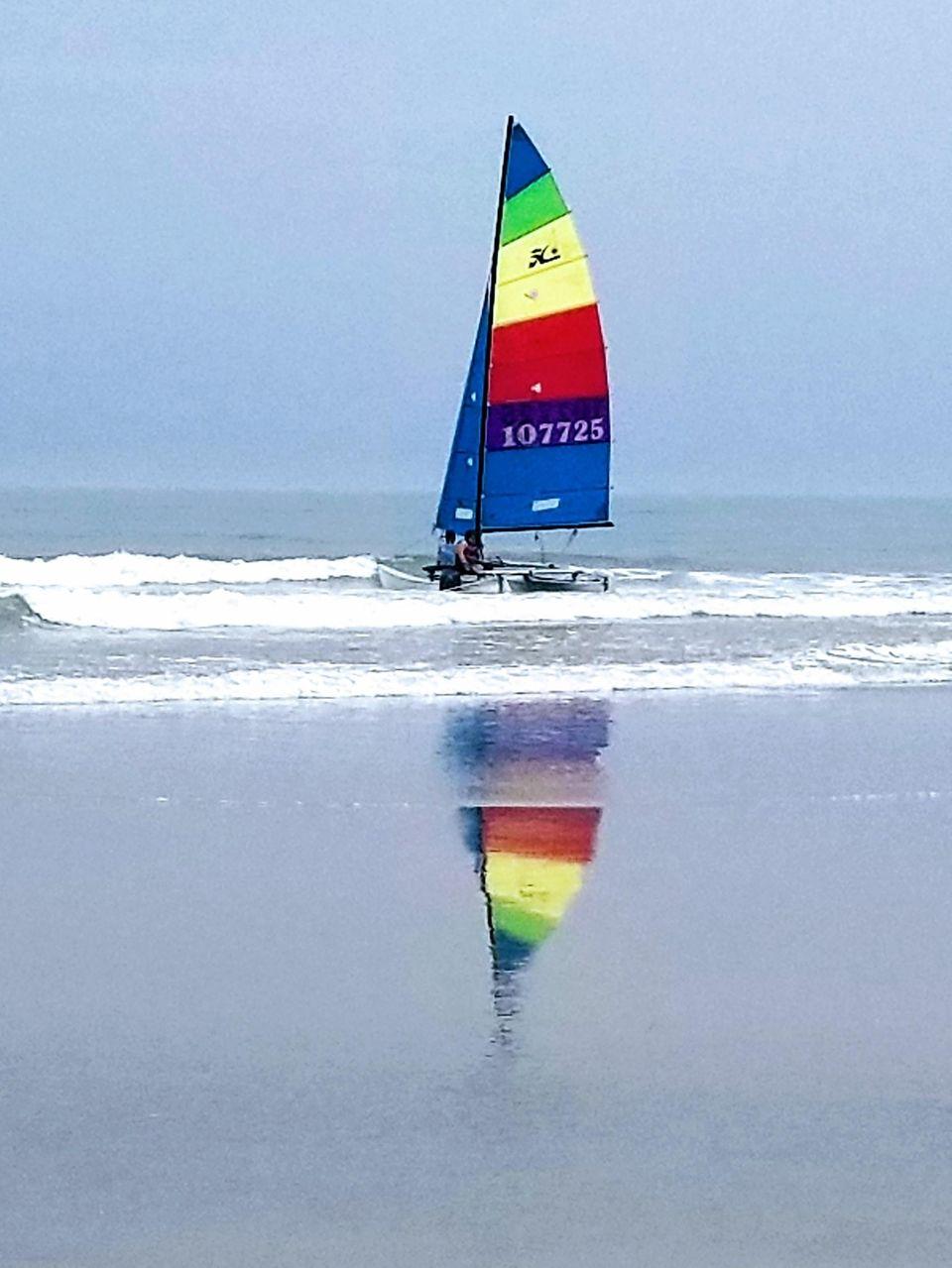 Sailing into Summer, Ventnor Beach, New Jersey