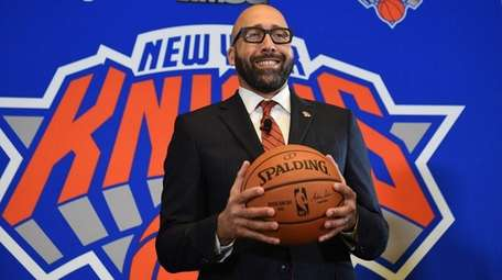 David Fizdale is introduced as the Knicks new