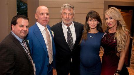 From left, Brian Rosenberg, Long Island Hospitality Ball