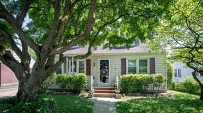 This four-bedroom Glen Cove house is on the