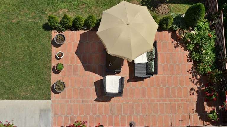 Look at designing your patio area the same