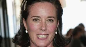 Designer Kate Spade, seen here at the 2004