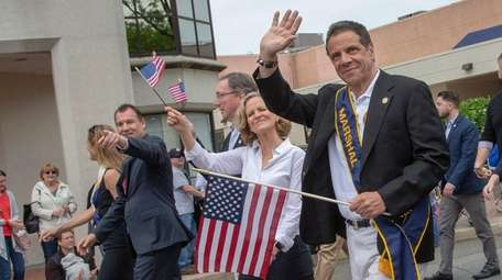 Gov. Andrew M. Cuomo on May 28 at