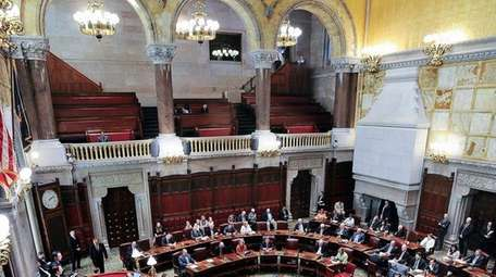 Members of the New York State Senate on