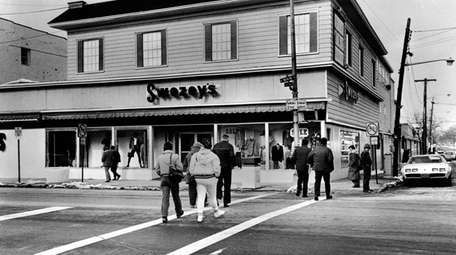 The Swezey's Deptartment Store in Patchogue on Feb.