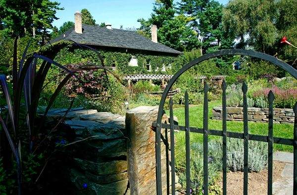 The Robison York State Herb Garden at Cornell