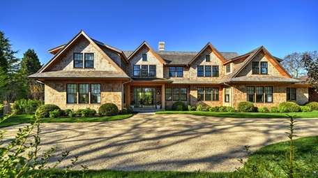 The East Hampton home has seven bedrooms and