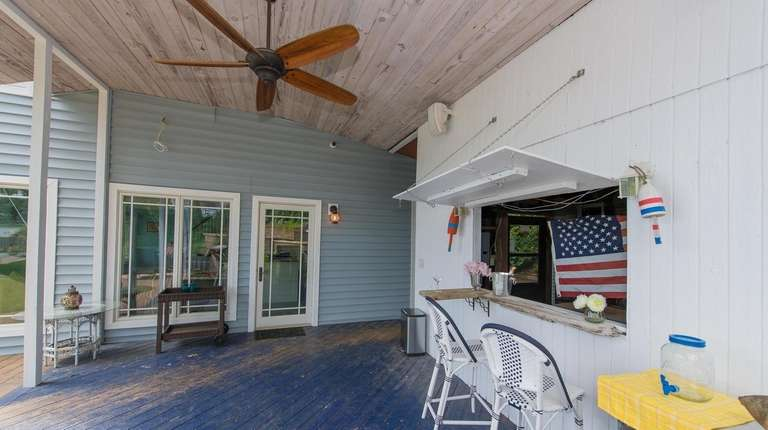 The owner of this Centerport home turned a