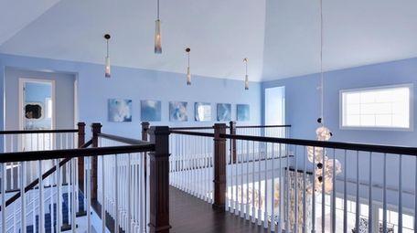 Port Washington-based designer Keith Baltimore installed LED