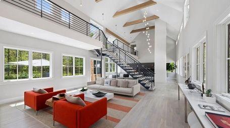 This Sagaponack home has a four-zone HVAC system